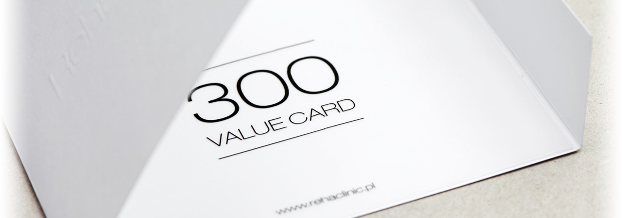 Reha Clinic - Value Card